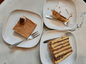 Het beste gebak van Boedapest vind je in Auguszt Törtenet (sinds 1870) aan de Kossuth Lajos (2)